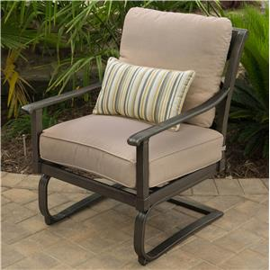 Apricity Outdoor Franklin Spring Chair