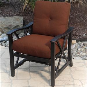 Agio Haywood Outdoor Upholstered Chair