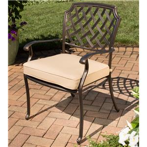 Apricity Outdoor Heritage Alumicast Dining Chair