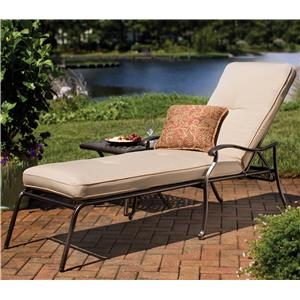 Agio heritage outdoor semi round sectional sofa for Agio heritage chaise lounge