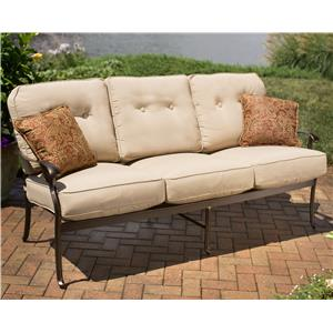 Agio heritage outdoor semi round sectional sofa wilson 39 s for Agio heritage chaise lounge