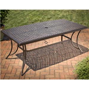 Apricity Outdoor Heritage Rectangular Dining Table