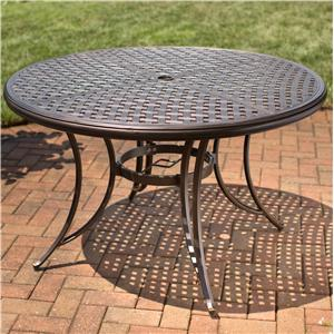 Apricity Outdoor Heritage Round Dining Table