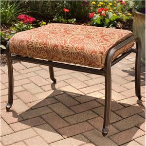 Apricity Outdoor Heritage Ottoman