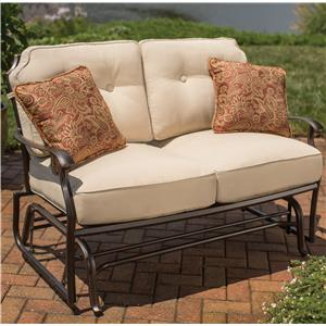 Apricity Outdoor Heritage Glider Loveseat