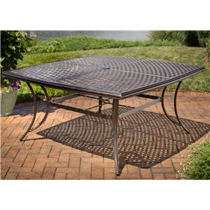 Apricity Outdoor Heritage Square Dining Table