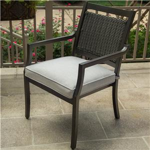 Apricity Outdoor Maddox Dining Arm Chair