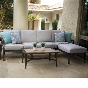 Apricity Outdoor Maddox Sectional with Chaise