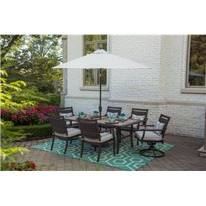 Apricity Outdoor Maddox Dining Set