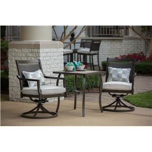 Apricity Outdoor Maddox Cafe Table Set