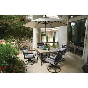 Apricity Outdoor Maddox Outdoor Dining Set
