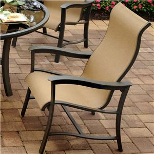 Apricity Outdoor Majorca Outdoor Sling Dining Chair