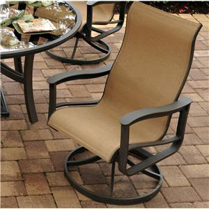 Agio Majorca Outdoor Sling Swivel Rocker