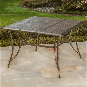 Apricity Outdoor Manhattan Square Dining Table