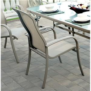 Apricity Outdoor Monterey 3 Outdoor Sling Dining Chair