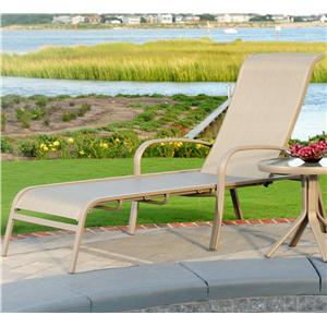 Agio Monterey 3 Outdoor Sling Chaise Lounge