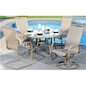 Apricity Outdoor Monterey 3 5 Piece Outdoor Dining Set