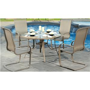Agio Monterey 3 5 Piece Outdoor Dining Set