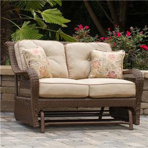 Apricity Outdoor Pinehurst Loveseat Glider
