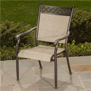 Apricity Outdoor Statton Dining Arm Chair