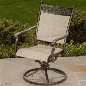 Apricity Outdoor Statton Swivel Rocker Chair