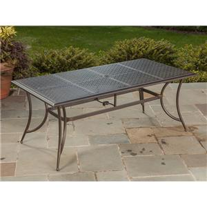 Apricity Outdoor Statton Rectangular Dining Table