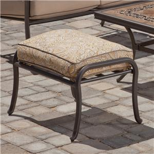 Apricity Outdoor Tradition Ottoman
