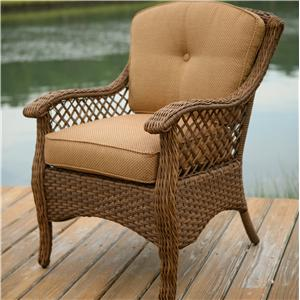 Agio Veranda--Agio Woven Outdoor Dining Chair
