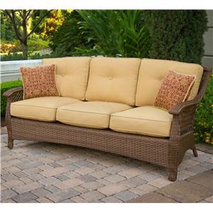 Apricity Outdoor Veranda--Agio Outdoor Woven Sofa