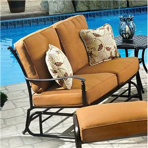 Agio Willowbrook  Glider Loveseat