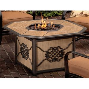 Agio Willowbrook  Aluminum Gas Fire Pit