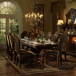 Michael Amini Cortina Dining Table