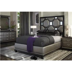 Michael Amini After Eight California King Bedroom Group