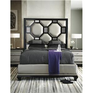 Michael Amini After Eight Californa King Bedroom Group