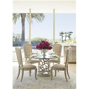 Michael Amini After Eight Casual Dining Room Group