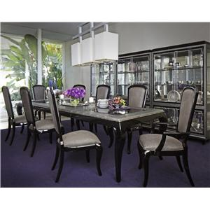 Michael Amini After Eight Formal Dining Room Group