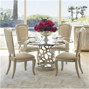 Michael Amini After Eight 5 Piece Dining Set