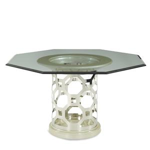 Michael Amini After Eight Octagonal Dining Table
