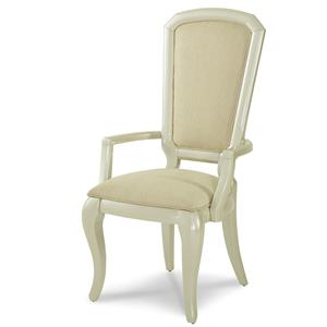 Michael Amini After Eight Arm Chair