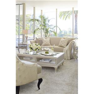 Michael Amini After Eight Stationary Living Room Group