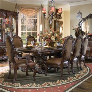 Michael Amini Essex Manor 9 Pc Dining Set