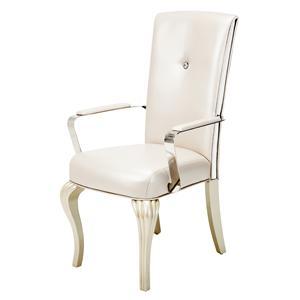 Michael Amini Hollywood Loft Arm Chair