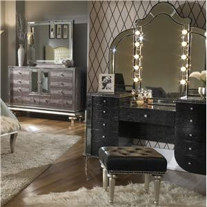 Michael Amini Hollywood Swank Vanity Set