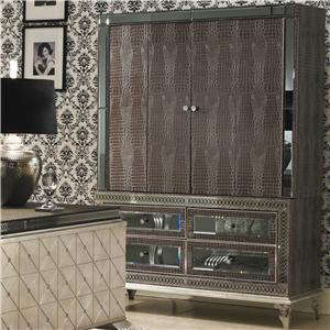 Michael Amini Hollywood Swank Media Cabinet