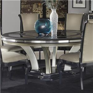 Michael Amini Hollywood Swank Round Dining Table