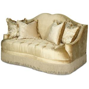 Michael Amini Imperial Court - PEARL Tufted Loveseat