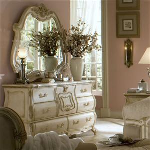 Michael Amini Lavelle Dresser & Mirror