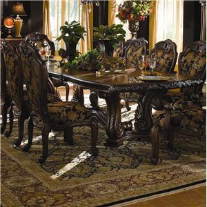 Michael Amini Oppulente Rectangular Dining Table