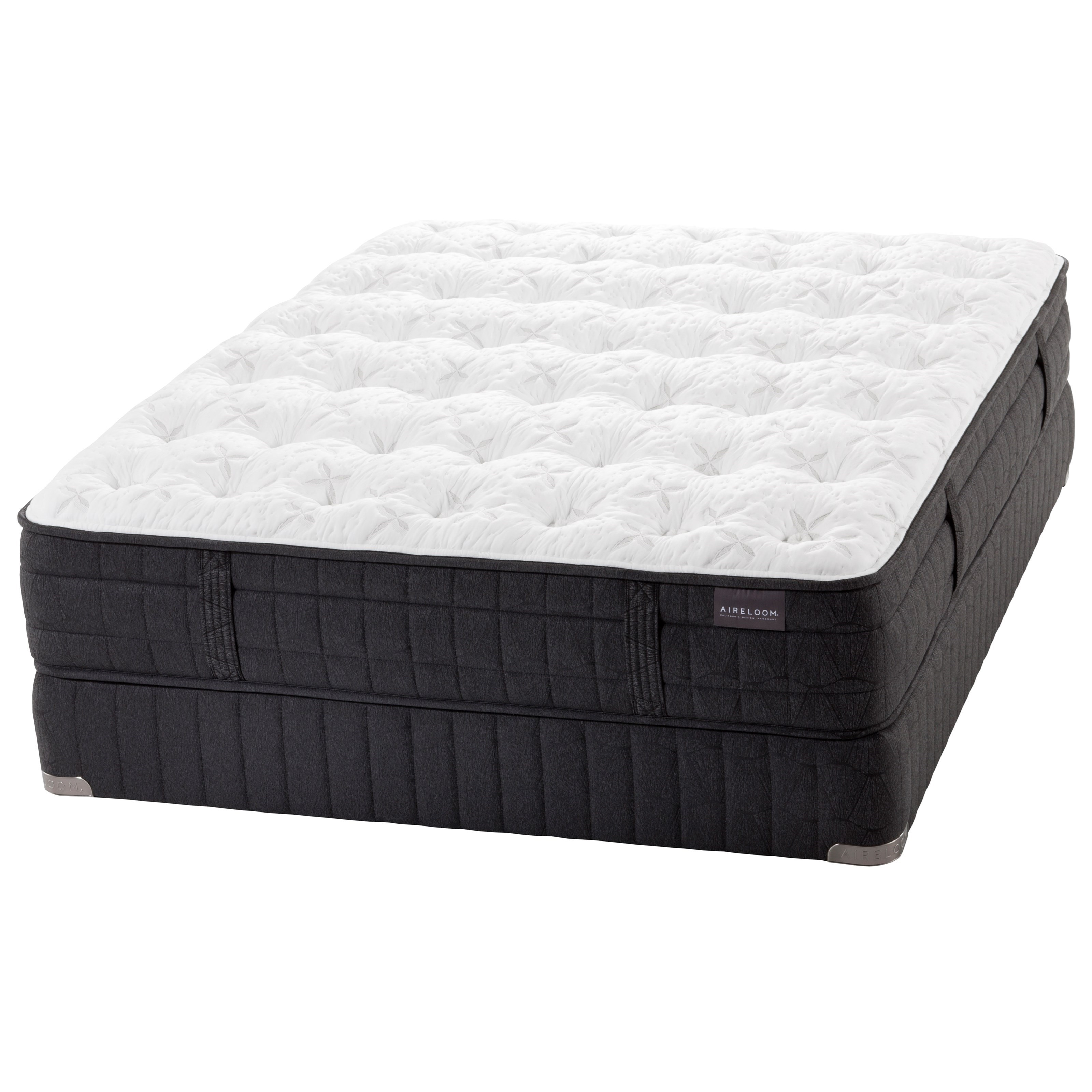 AL Madrid Aireloom California King Plush Mattress by Aireloom Bedding at HomeWorld Furniture