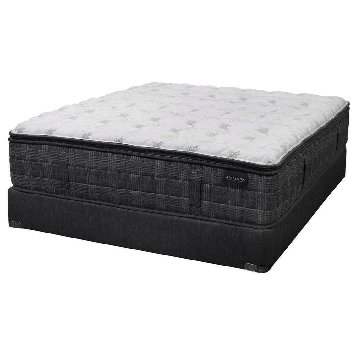 Katella Lux Top Firm King Firm Luxetop™ Mattress Set by Aireloom Bedding at Miller Waldrop Furniture and Decor